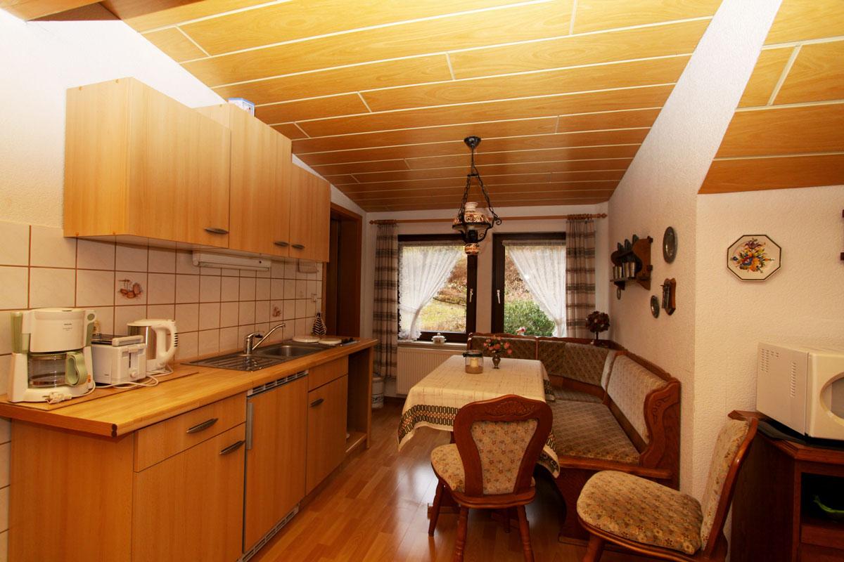 Die Küche in Wohnung 2.